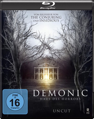 Demonic - Haus des Horrors 2D Blu-ray Review Cover