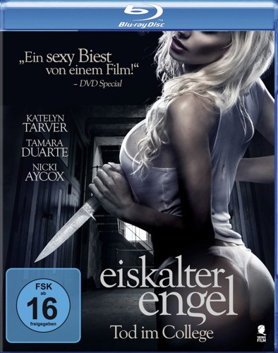 Eiskalter Engel - Tod im College Blu-ray Review Cover