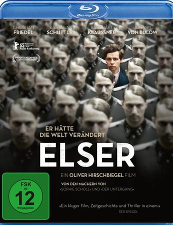 Elser - Er hätte die Welt verändert Blu-ray Review Cover