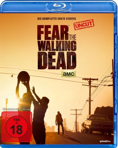 Fear the Walking Dead - komplette erste Staffel Season 1 Blu-ray Review Cover