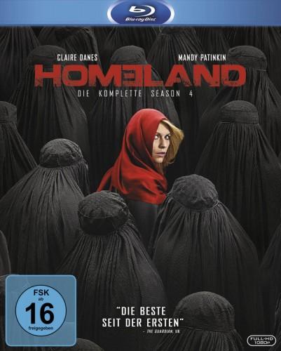 Homeland Season 4 komplette vierte Staffel Blu-ray Review Cover