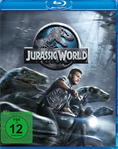 Jurassic World Blu-ray Review Cover