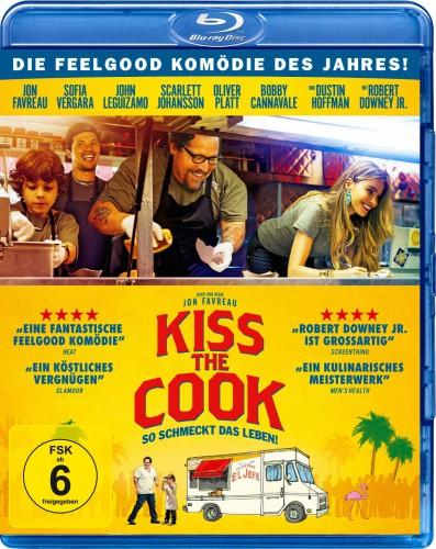 Kiss the Cook - So schmeckt das Leben Blu-ray Review Cover
