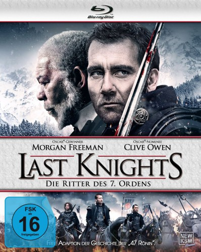 Last Knights - Die Ritter des 7. Ordens Blu-ray Review Cover