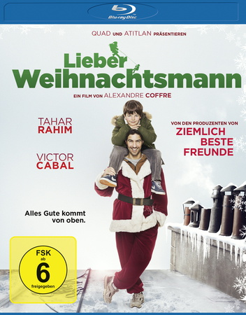 Lieber Weihnachtsmann Blu-ray Review Cover