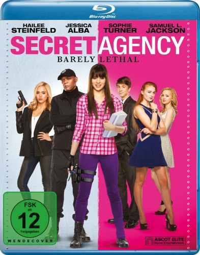 Secret Agency - Barely Lethal Blu-ray Review Cover