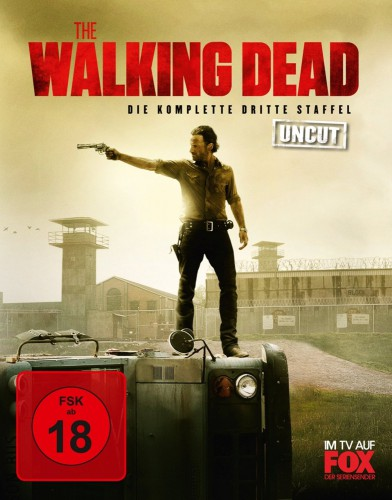 The Walking Dead komplette dritte Staffel Season 3 Blu-ray Review Cover