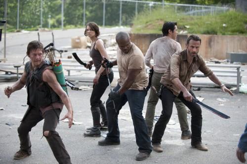 The Walking Dead komplette dritte Staffel Season 3 Blu-ray Review Szene 1