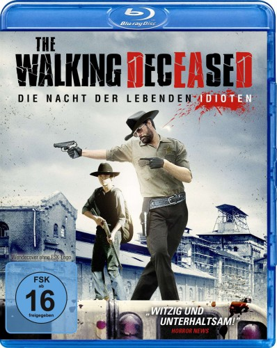 The Walking Deceased Nacht der lebenden Idioten Blu-ray Review Cover