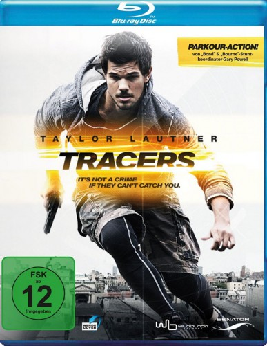 Tracers Blu-ray Review Cover
