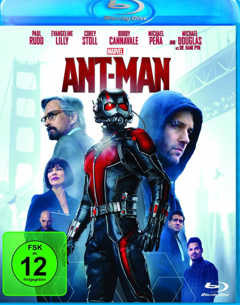 Ant-Man Blu-ray Review Cover