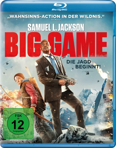 Big Game - Die Jagd beginnt! Blu-ray Review Cover