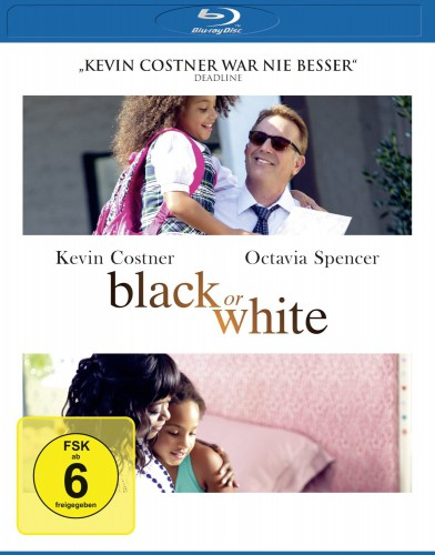 Black or White Blu-ray Review Cover