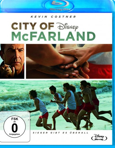 City of McFarland - Sieger gibt es überall Blu-ray Review Cover