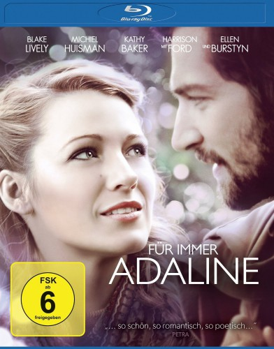 Für immer Adaline Blu-ray Review Cover
