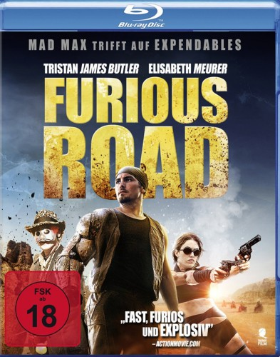 Furios Road Blu-ray Review Cover