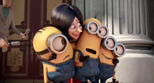 Minions 3D Blu-ray Review Szene 1