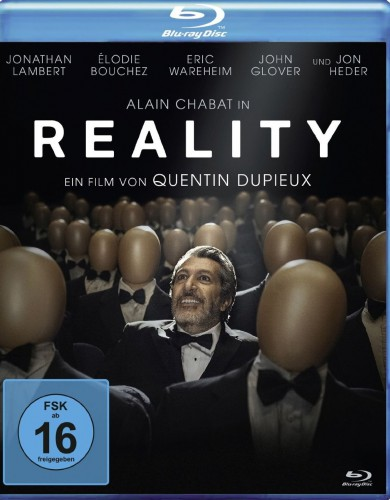 Reality Blu-ray Review Cover