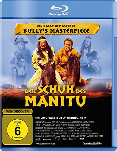 Schuh des Manitu digitally remastered Blu-ray Review Cover