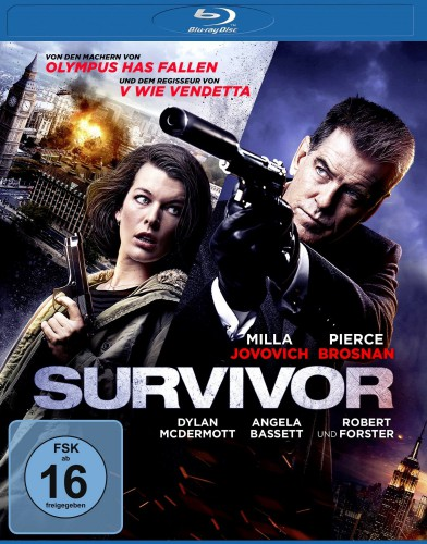 Survivor Blu-ray Review Cover