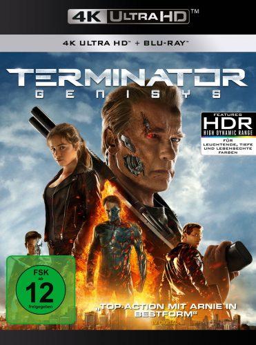 Terminator Genisys 4K UHD Blu-ray Cover