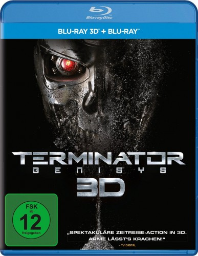 Terminator Genisys Blu-ray Review Cover