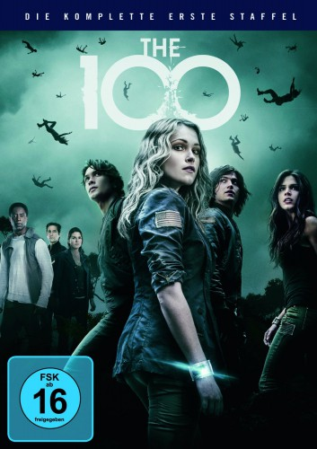 The 100 - die komplette erste Staffel Season 1 DVD Review Cover