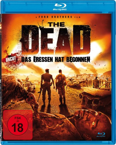 The Dead - Das Fressen hat begonnen uncut Blu-ray Review Cover