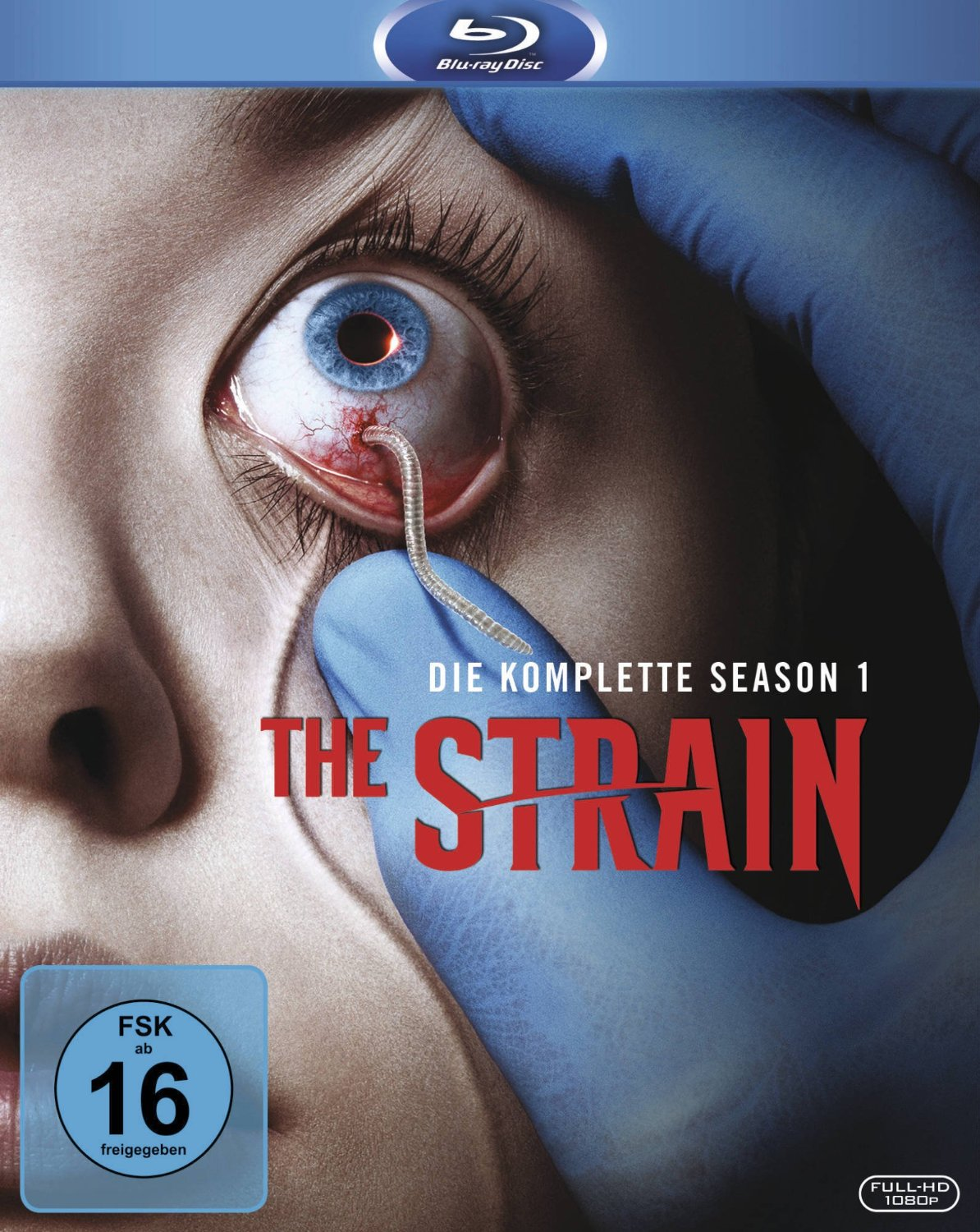 The Strain - die komplette erste Staffel Season 1 Blu-ray Review Cover