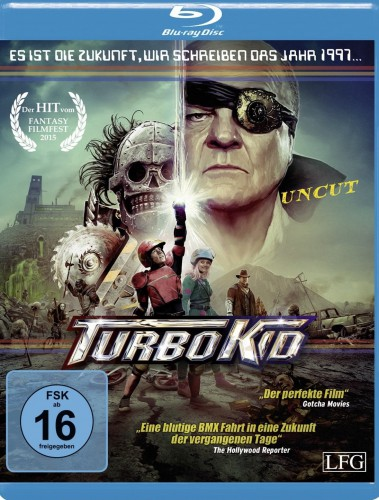 Tubo Kid uncut Blu-ray Review Cover