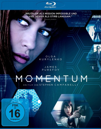 momentum Blu-ray Review Cover