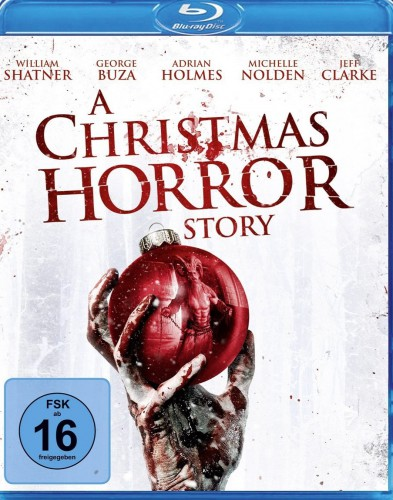 A Christmas Horror Story Blu-ray Review Cover
