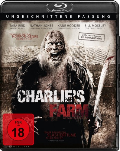 Charlie's Farm Blu-ray Review Uncut Cover