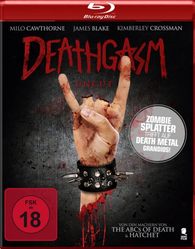 Deathgasm Uncut Blu-ray Review Cover