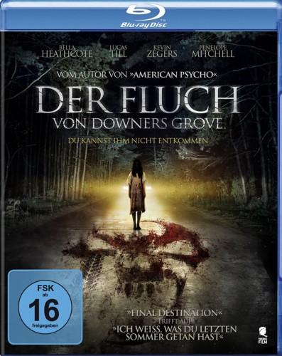 Der Fluch von Downers Grove Du kannst ihm nicht entkommen Blu-ray Review Cover
