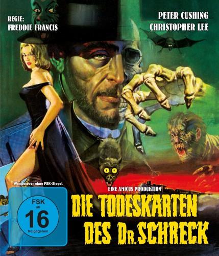 Die Todeskarten des Dr. Schreck Blu-ray Review Cover Regulär