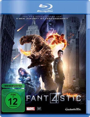 Fantastic Four Fant4stic 2015 Blu-ray Review Cover