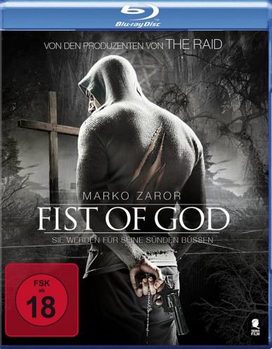 Fist of God - Sie werden für seine Sünden büßen Blu-ray Review Cover