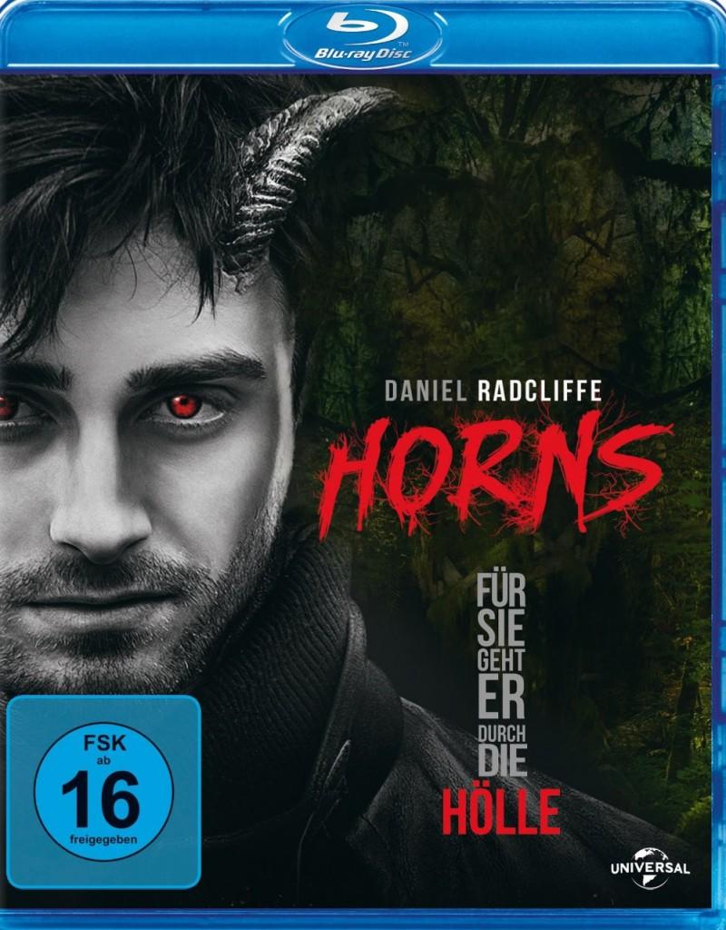 Horns - Für sie geht er durch die Hölle Blu-ray Review Cover