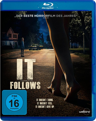 It Follows Blu-ray Review Cover