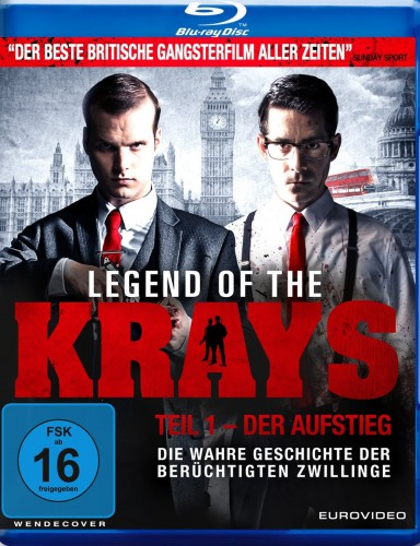 Lebend of the Krays - Teil 1 Der Aufstieg Blu-ray Review Cover