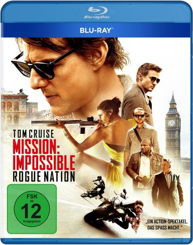 Mission Impossible - Rogue Nation Blu-ray Review Cover