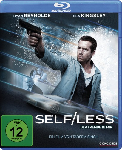Self Less - Der Fremde in mir Blu-ray Review Cover