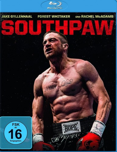 Southpaw Blu-ray Review Cover