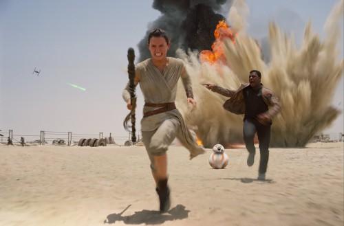 Star Wars - Das Erwachen der Macht Blu-ray Review Szene 2