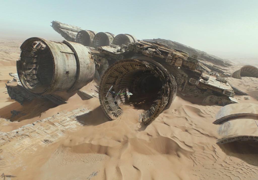 Star Wars - Das Erwachen der Macht Blu-ray Review Szene 6