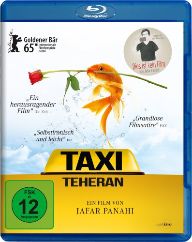 Taxi Teheran Blu-ray Review Cover