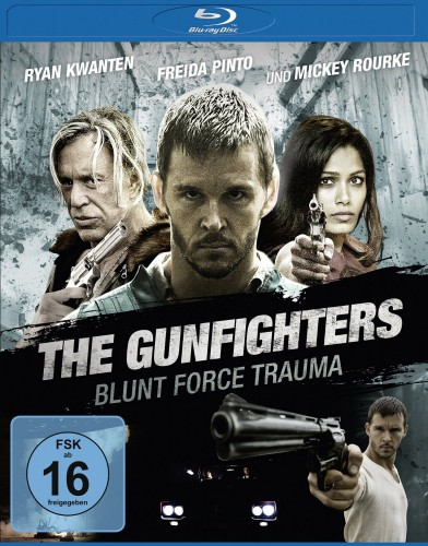 The Gunfighters Blunt Force Trauma Blu-ray Review Cover