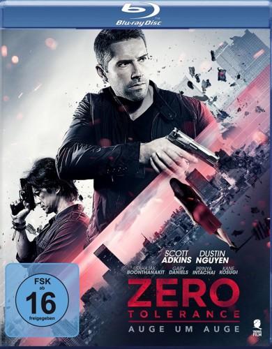 Zero Tolerance - Auge um Auge Blu-ray Review Cover