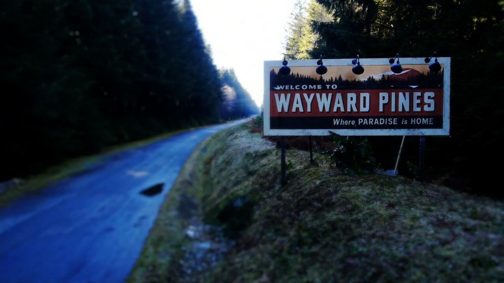 wayward pines Season 1 komplette Serie Blu-ray Review Szene 1